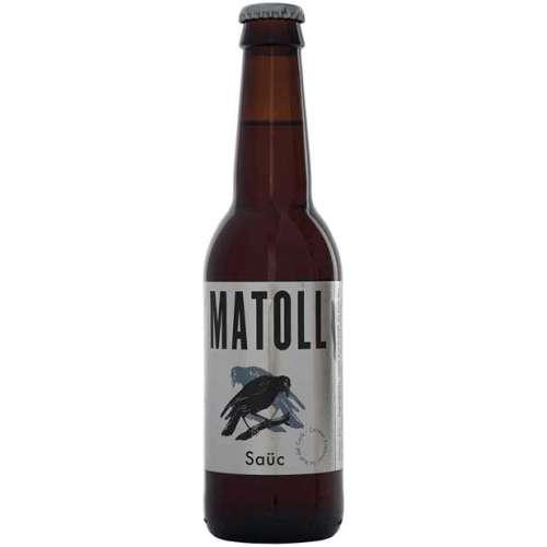 Cerveza Matoll Saüc 75 cl.