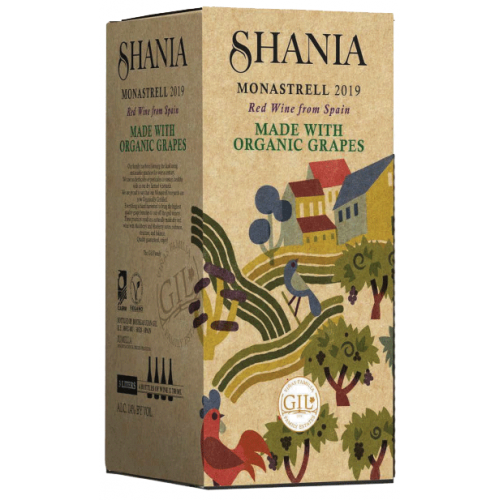 Bag in Box Shania Monastrell 3L.