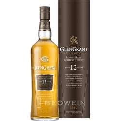 Glen Grant 12 Year Old Single Malt Whisky 1L.