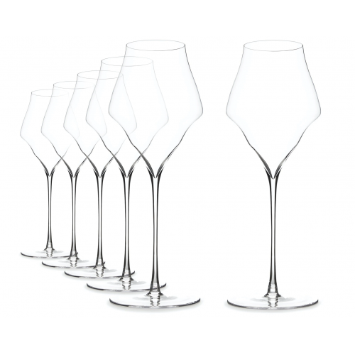 6x Copas Josephine Nº 4 - Champagne