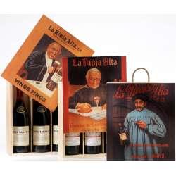 Viña Ardanza Reserva Caja Madera Litografiada 3 Botellas