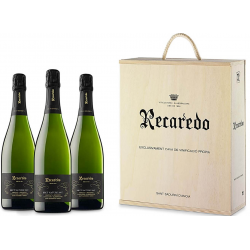Recaredo Terrers Brut Nature Caja Madera 3 Botellas