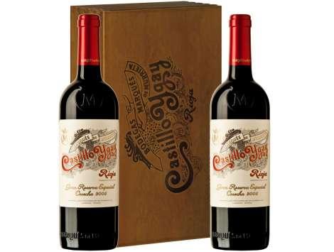 Castillo Ygay Gran Reserva Caja Madera 2 Botellas 2007