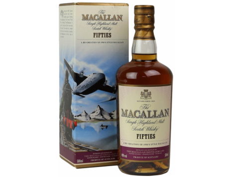 Macallan Travel Series Fifties 50 cl.