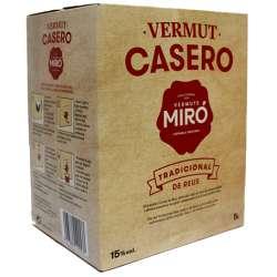 Bag in Box Vermouth Miró Casero 5 Litros