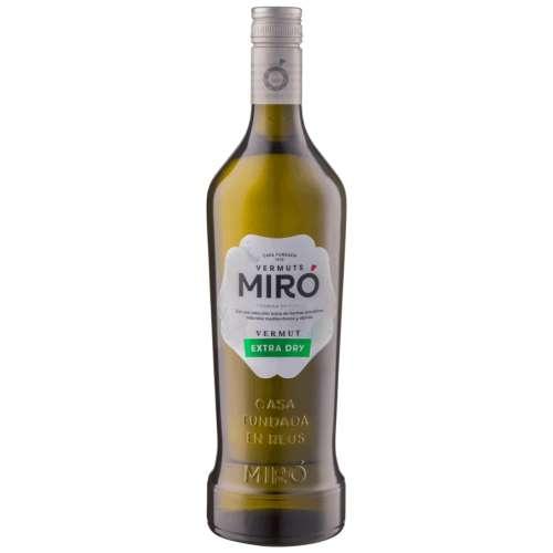 Vermouth Miró Extra Dry 15º