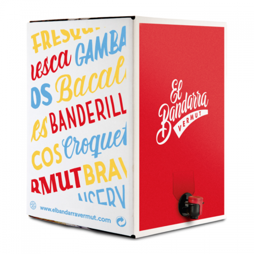 Bag in Box Vermouth El Bandarra Blanc 5L.