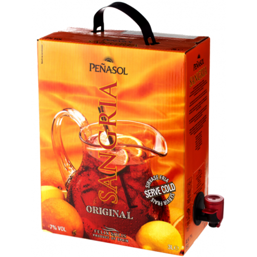 Bag in Box Sangria Peñasol 3L.