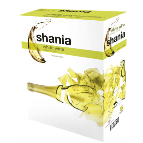 Bag in Box Shania Blanco 3L.