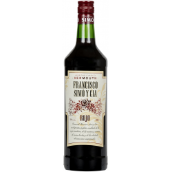 Vermouth Francisco Simo y Cia Rojo