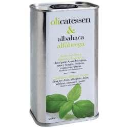 Olicatessen Albahaca 250 ml.