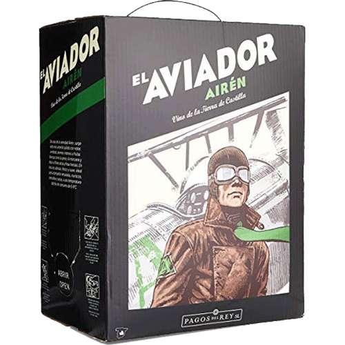 Bag in Box El Aviador Blanco 5L.